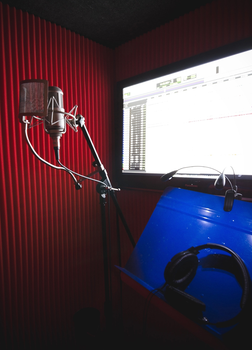 The Bethesda Studio Is Our Original Blue Room Designed And Built In 2010 This Features A Funky Creative Control With Pro Tools Hdx
