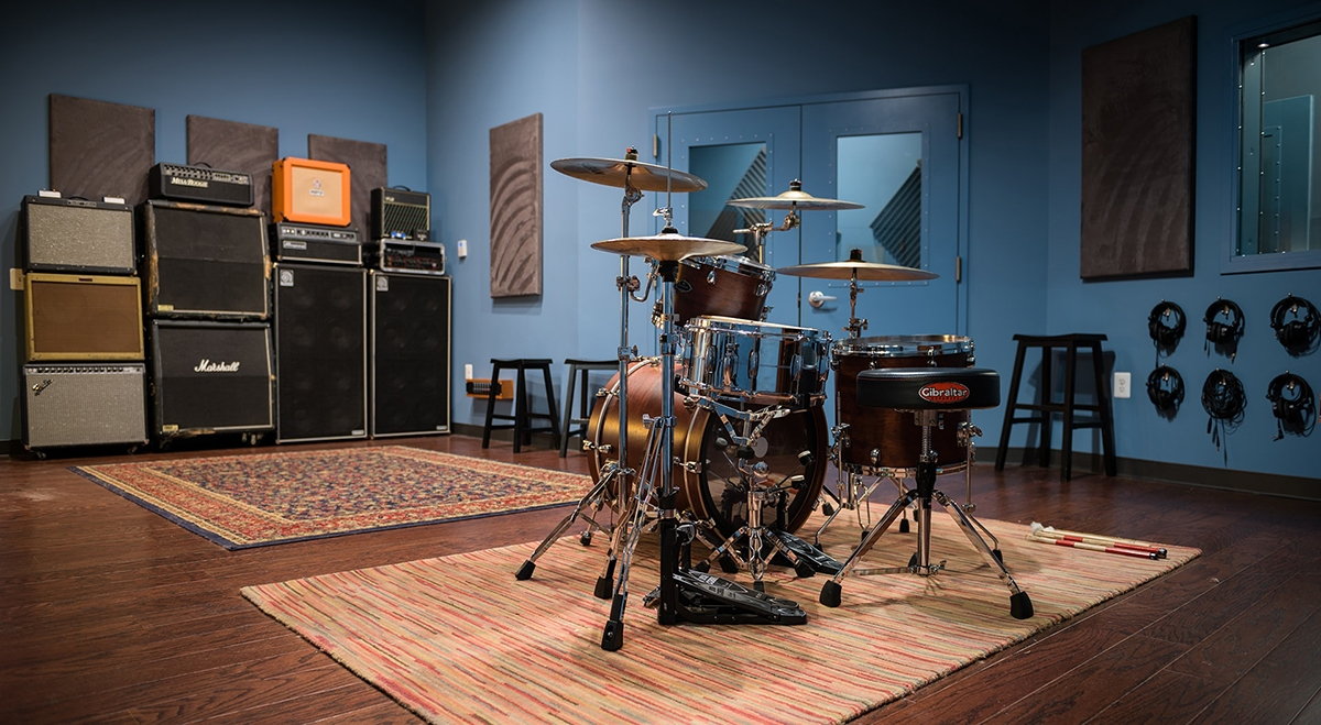 Blue Room Studio - Herndon Music Studio Washington D C